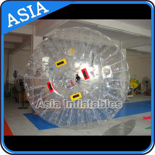 1.0mm  Transparent PVC Inflatable Zorb Ball Human Hamster Ball