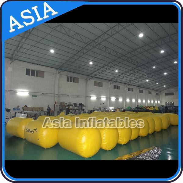Comfortable Advertising inflatable swim buoy cylinder
