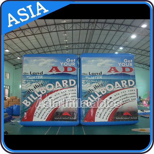 Abnormal Advertising Inflatables Billboard With Printing , Outdoor Billboard