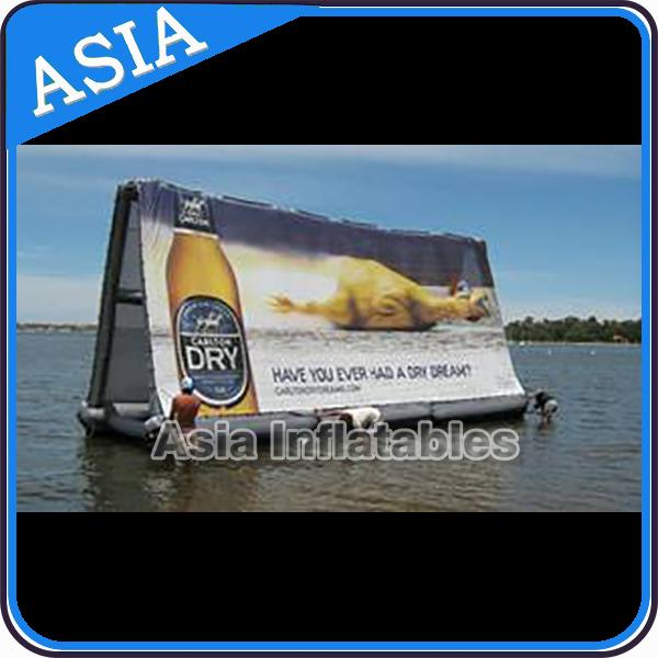 Inflatable Billboard For Publicity ,  Advertising Inflatables Screen Banner