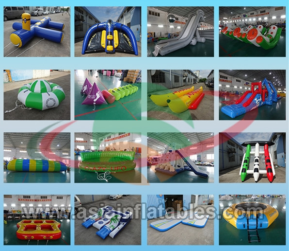 15' Rave aqua jump eclipse, water trampoline , inflatable jumping trampoline