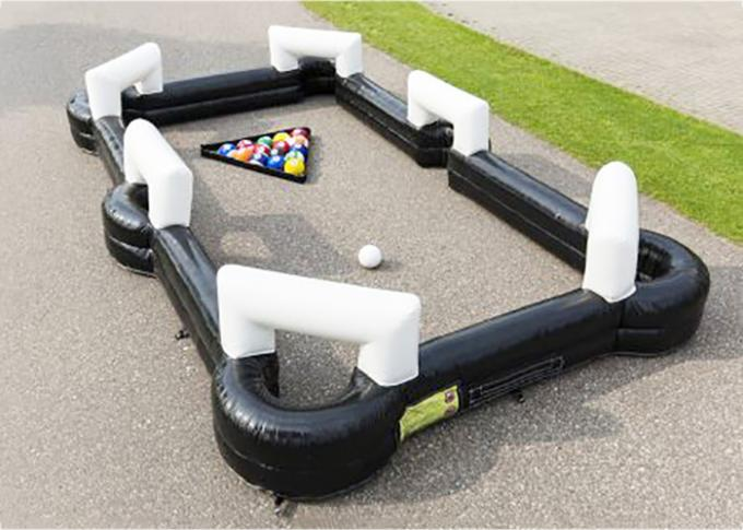 New Adventures Inflatable Snookball games/Inflatable biliards games