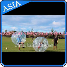 ประเทศจีน 1.0mm TPU Soccer bubble for sale , Human soccer bubble , Bubble ball soccer โรงงาน