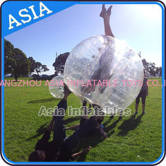 ประเทศจีน Colorful dot inflatable human bubble soccer , Body zorbing ball , Outdoor loopyball โรงงาน