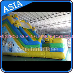 ประเทศจีน PVC Tarpaulin Commercial Inflatable Bouncer Inflatable Minions Bouncy Castle โรงงาน
