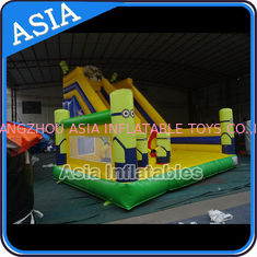 ประเทศจีน Minions Commercial Inflatable Bouncer For Sale / Inflatable Minions Bouncer Slide โรงงาน