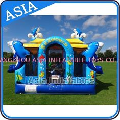 ประเทศจีน Sea World Bouncy House Inflatable Bouncer Children Amusement Sports โรงงาน