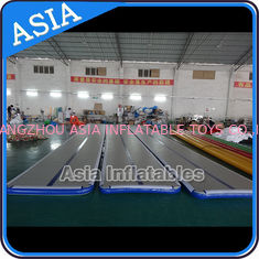 ประเทศจีน Dwf Material Custom Inflatable Gym Air Mat Used For Dancing โรงงาน