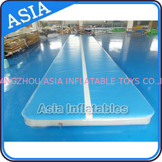 ประเทศจีน 10ml Light Blue Inflatable Air Gymnastics Mats For P โรงงาน