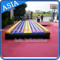 ประเทศจีน Yoga Training Inflatable Tumble Mattress With Constant Blower โรงงาน