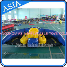 ประเทศจีน 0.9mm PVC Tarpaulin Inflatable Flying Manta Ray / Fly Fish Inflatable Water Parks โรงงาน