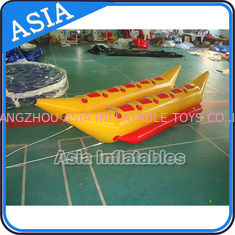ประเทศจีน Water Games Inflatable Boats Double Tubes Flying Fish Inflatable Banana Boat โรงงาน