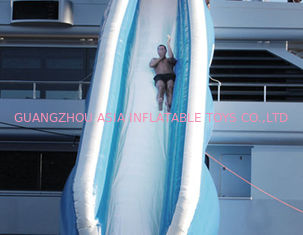 ประเทศจีน Outdoor Inflatable Auqa Sports, Airtight Water Slide For Sale โรงงาน