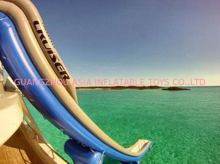 ประเทศจีน Outdoor PVC Inflatable Aqua Sports,  Marine Slide For Yacht, Yacht Climbing โรงงาน