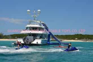 ประเทศจีน Giant Inflatable Water Sports,Inflatable Yacht Sliding Sports Games โรงงาน
