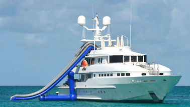 ประเทศจีน Ocean Floating Spots Games, Inflatable Water Slides For Yacht โรงงาน