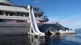 ประเทศจีน Customized Water Slide Inflatable Water Sports on yacht 0.90mm Pvc Tarpaulin โรงงาน