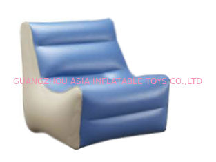 ประเทศจีน High Quality Inflatable Couch Sofa With 0.6mm Pvc Tarpaulin For 2 To 3 People โรงงาน