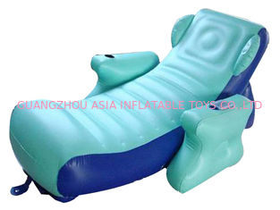 ประเทศจีน Eco-friendly PVC Inflatable Water Sofa Bed , Advertising Inflatable Floating Sofa โรงงาน