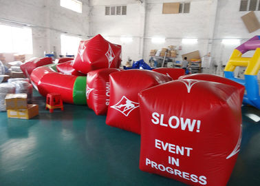 ประเทศจีน Water Triathlons Advertising Inflatable Promoting Buoy For Ocean Or Lake โรงงาน