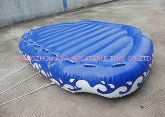 ประเทศจีน 4 Passangers Inflatable Water Ski Tubes Towable Water Surfboard Platform For Beach โรงงาน