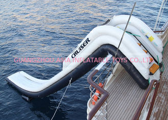 ประเทศจีน Outdoor Inflatable Water Floating Sports, Inflatable Yacht Slide For Boat/Yacht โรงงาน