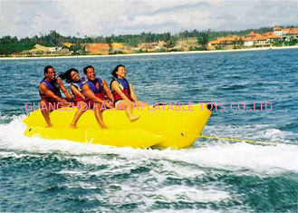 Aqua Park Towable Inflatables , 3 - 5 persong Inflatable Flying Banana Boat
