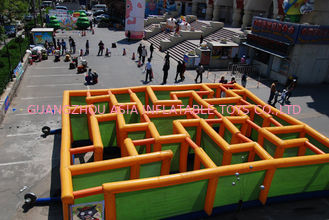 Inflatable Labyrinth Games, Inflatable Square Maze Game For Chilren