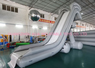 ประเทศจีน 0.90mm PVC Water Slide, Inflatable Water Sports For Water Park โรงงาน