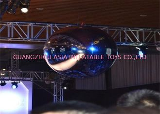ประเทศจีน Silver Inflatable PVC Mirror Balloon for party or stage decoration โรงงาน