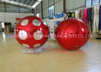 ประเทศจีน Stage Customized Advertising Fireproof Inflatable Mirror Ball For Christmas Decoration โรงงาน