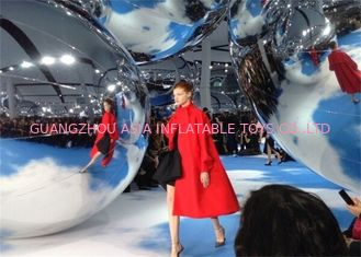 ประเทศจีน Party Stage Decoration Helium Balloon And Blimps Inflatable Mirror Party Balloon โรงงาน