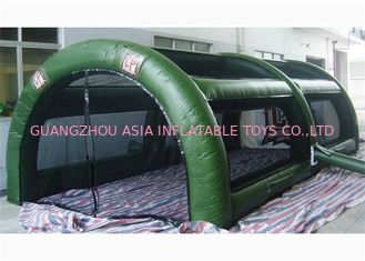 ประเทศจีน CE Approved Inflatable Paintball Tent Re - Usability Inflatable Air Tent โรงงาน