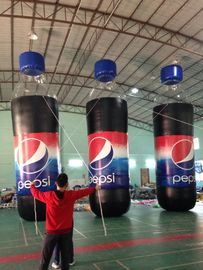 ประเทศจีน Huge Beverage Inflatable Bottles for Promotional โรงงาน