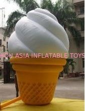 ประเทศจีน Custom Inflatable Ice Cream Model  for Outdoor Advertising โรงงาน