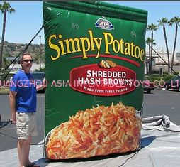 ประเทศจีน Outdoor Inflatable Replica for Snacks Advertising โรงงาน