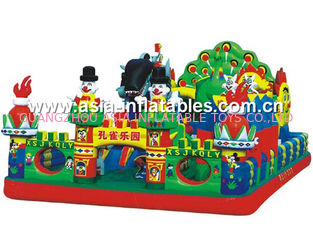 Sport Theme Inflatable Fun City, Inflatable Funcity Game For Kids