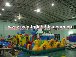 2014 New Design Inflatable Fun City / Inflatable Soft Play For Children