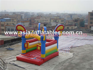 ประเทศจีน Commercial attractive kids inflatable bouncer castle for fun โรงงาน
