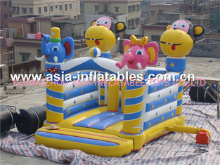 ประเทศจีน used commerical playground equipment inflatable combo  โรงงาน
