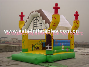 ประเทศจีน 2014 new design advertising inflatable combo unit/promotion PVC inflatable jumping bouncer โรงงาน