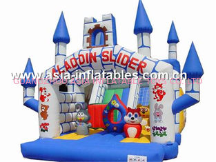 ประเทศจีน inflatable combo  bounce house,cheap inflatable bouncy castle prices for sale โรงงาน