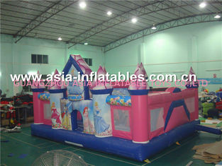 ประเทศจีน Durable combo/princess inflatable combo/mages inflatable combo โรงงาน