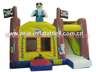 ประเทศจีน 2014 Hot sale Inflatable bouncer house Inflatable combo with slide โรงงาน