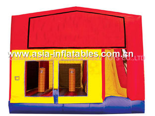ประเทศจีน Popular Inflatable Bouncy Castle Inflatables China / Inflatable Combo for Kids โรงงาน