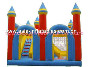ประเทศจีน Funny inflatable combo/ inflatable bouncer with slide/ inflatable jumper โรงงาน
