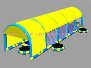 ประเทศจีน 2014 New Design Kids Inflatable Pool with Suncover Roof โรงงาน