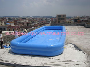 ประเทศจีน Lovely New Design Huge Commercial PVC Adults and Kids Inflatable Pool with Various Colours โรงงาน