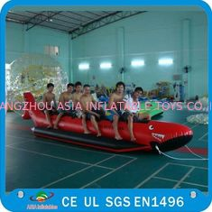 ประเทศจีน Inflatable Single Tube Banana Boat, Inflatable Water Sports Boat โรงงาน