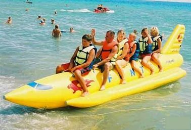 ประเทศจีน Inflatable Towable Water Sports, Inflatable Single Tube Banana Boat โรงงาน